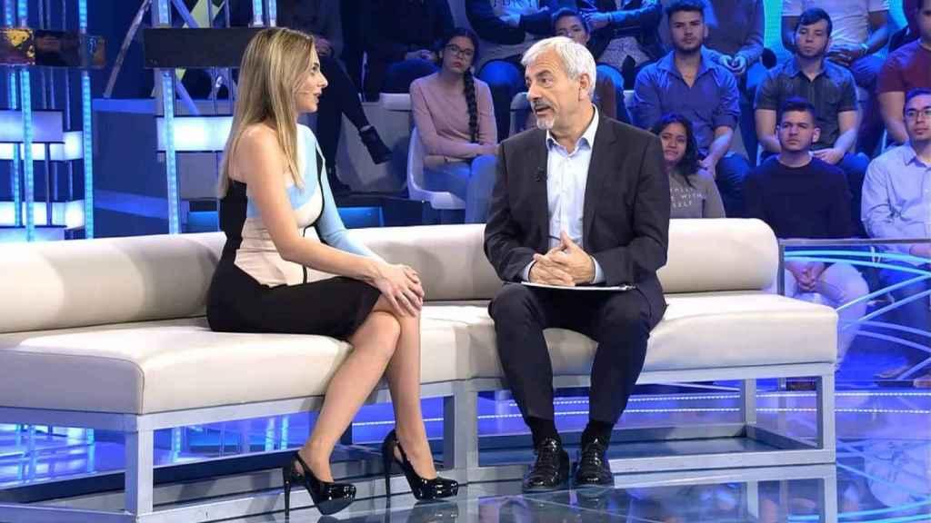 Carlos Sobera e Irene Rosales en 'Volverte a ver'