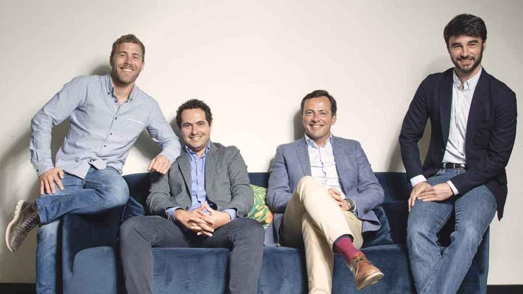 Los fundadores de Ritmo.