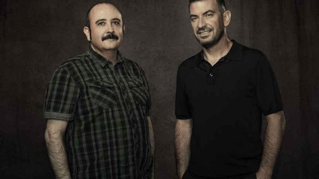 Carlos Areces y Arturo Valls, policías de incógnito en la ficción.