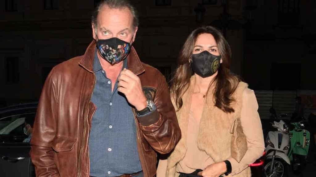 Bertín y Fabiola en una imagen de archivo fechada en octubre de 2020.