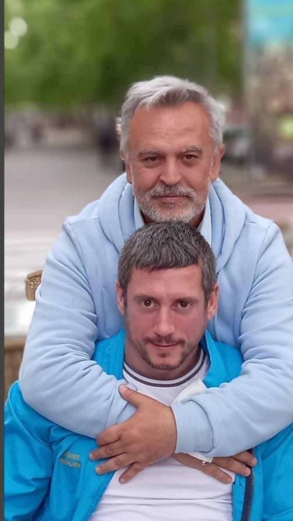 Del Pozo junto a su nueva pareja sentimental, Rubén Sánchez.