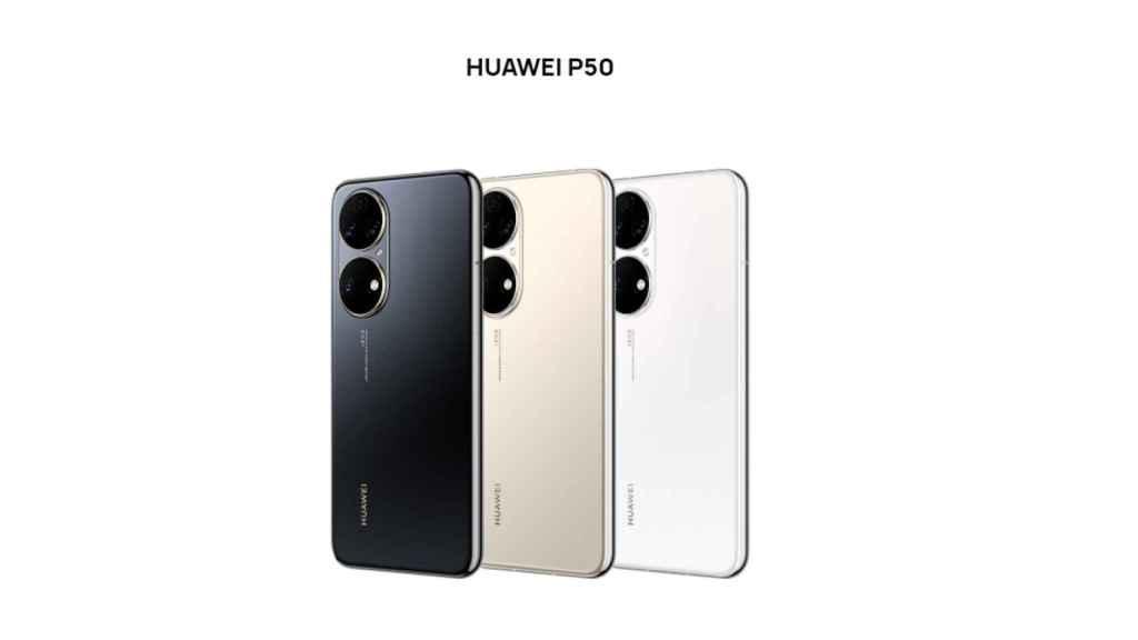 Huawei P50 oficial
