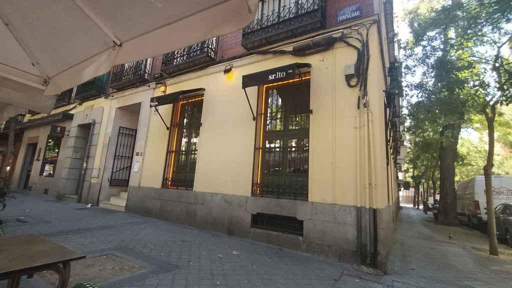 El restaurante Sr. Ito Lab, situado en el número 7 de la calle Trafalgar.