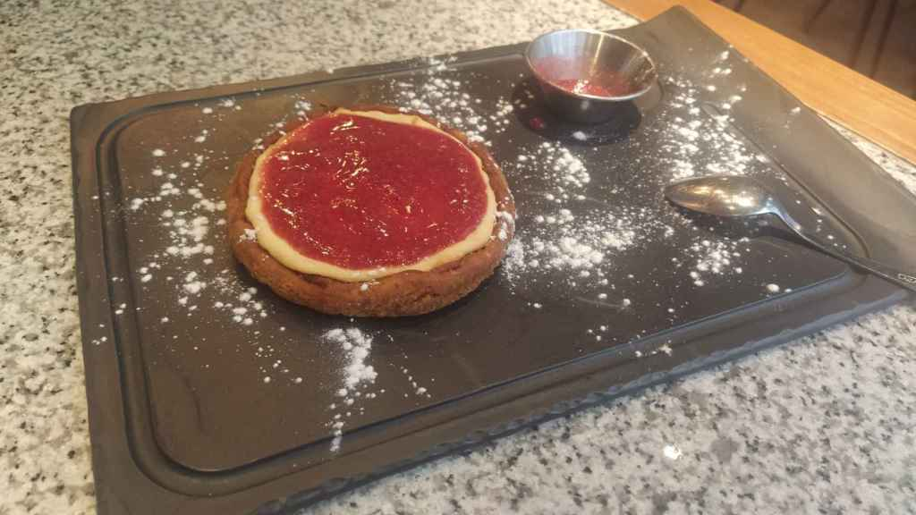 La tarta de queso de Steakburger.