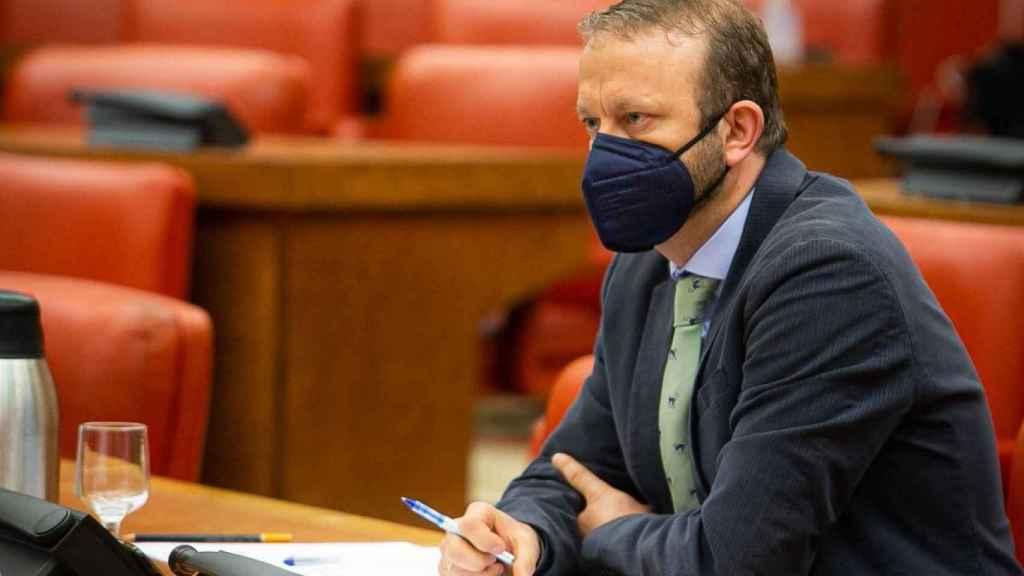 El profesor Manfredi en el Congreso de los Diputados.