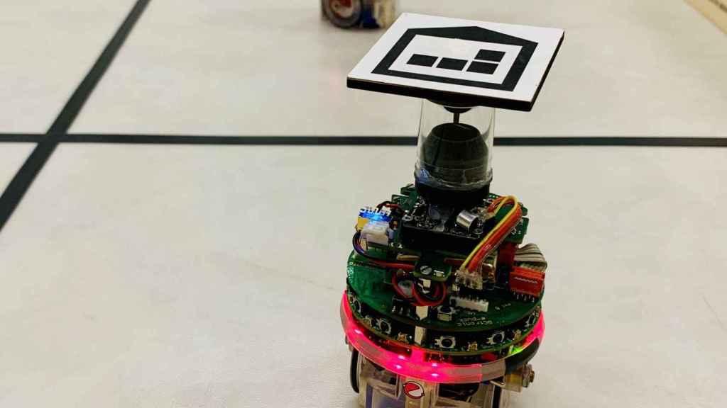 Robots usados en los experimentos