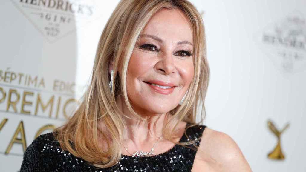 Ana García Obregón en un acto público celebrado en marzo de 2021.