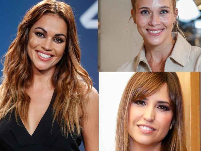 Lara Álvarez, Patricia Montero y Sandra Sabatés en montaje de JALEOS.