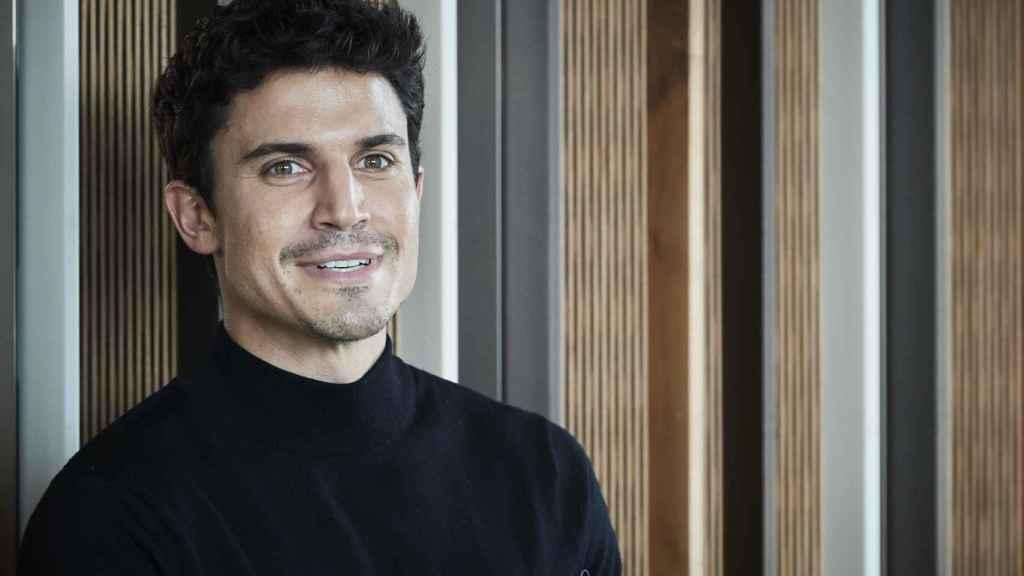 Álex González en el 'photocall' de una película en enero de 2020.