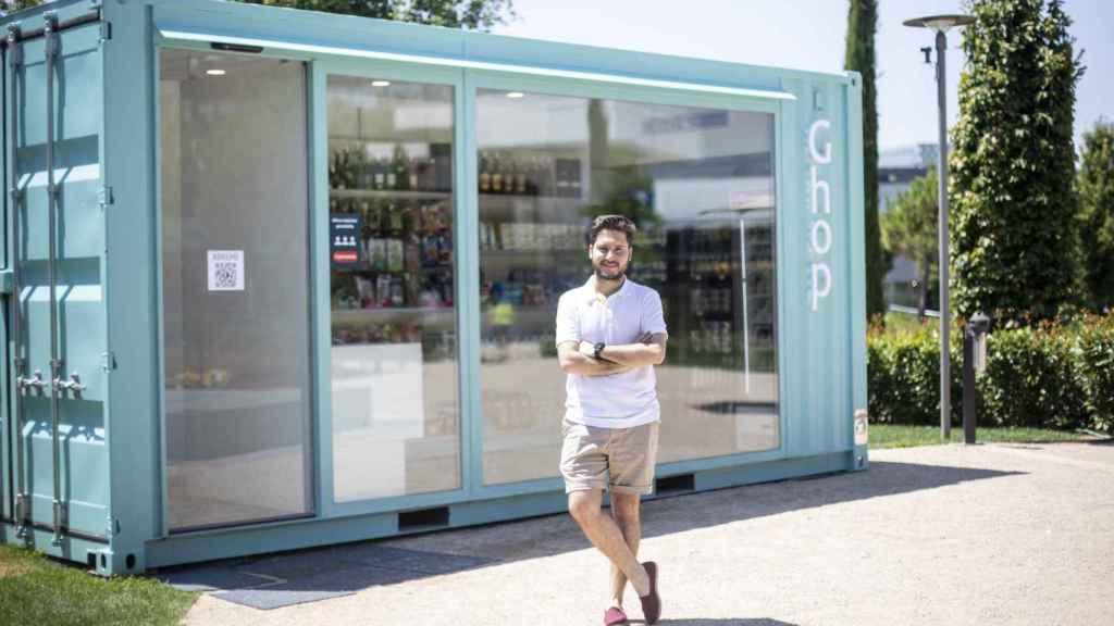 Víctor de Haro, uno de los tres emprendedores que lideran Ghop.
