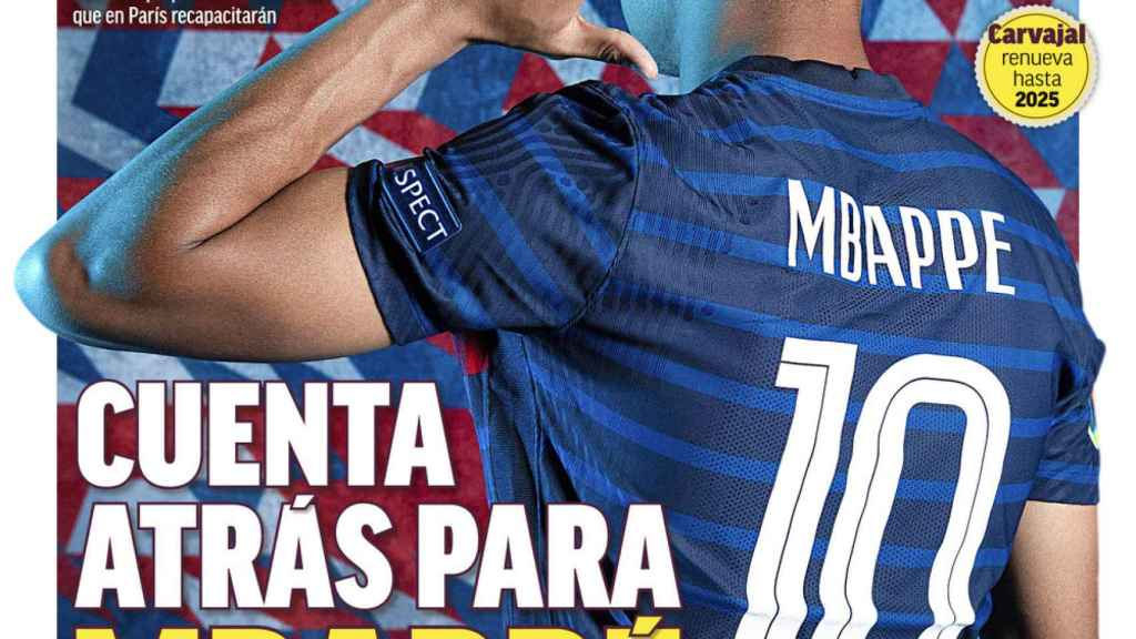 La portada del diario MARCA (30/07/2021)
