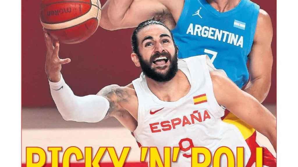La portada del diario AS (30/07/2021)