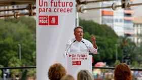 El secretario general del PSPV en Alicante, José Chulvi, valora la elección de Benidorm para el congreso.