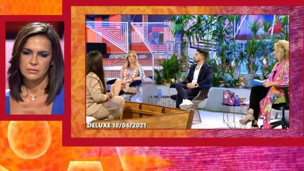 Olga Moreno ha visto fragmentos de la docuserie de Rocío Carrasco y de lo que se ha dicho en otros programas.