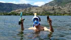 Los voluntariosos buzos que cuidan en silencio del Lago de Sanabria 1