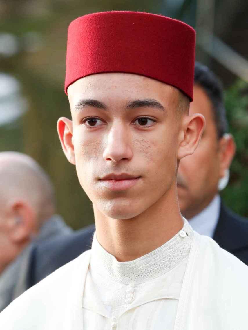 Mulay Hassan ha convertido su corte de pelo en su seña de identidad.