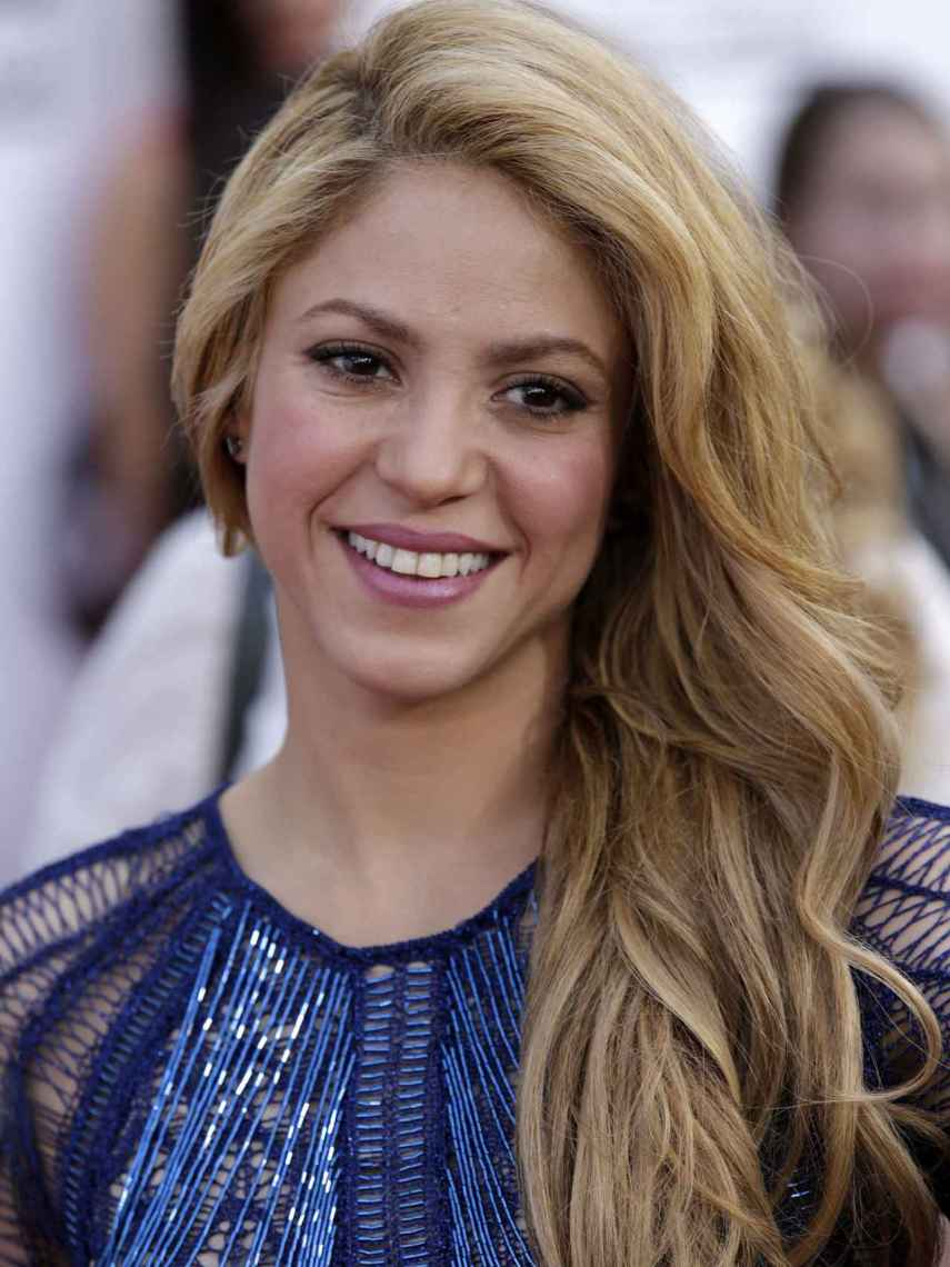 Shakira, during an event in Las Vegas in 2014.