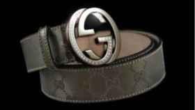 El cinturón de Gucci valorado en 169.000 euros.