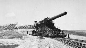 El Schwerer Gustav, el arma más grande usada en combate durante la IIGM.