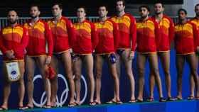 Selección masculina de waterpolo en los JJOO de Tokio 2020