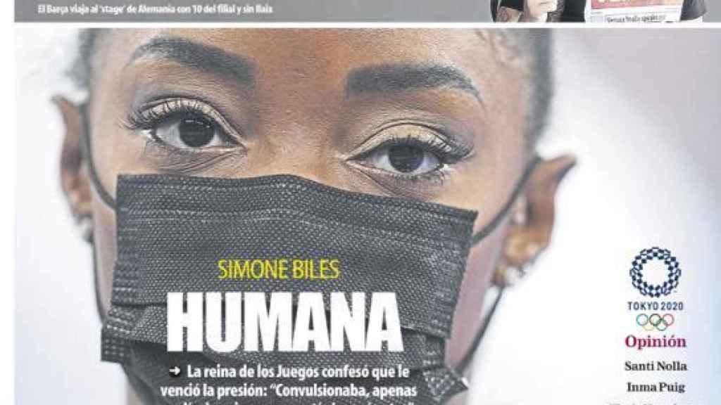 Portada Mundo Deportivo (29/07/20)