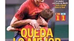 La portada del diario AS (29/07/2021)