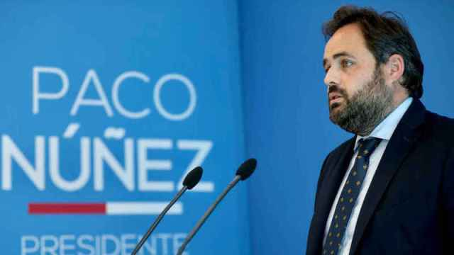 Paco Núñez, presidente del PP de CLM