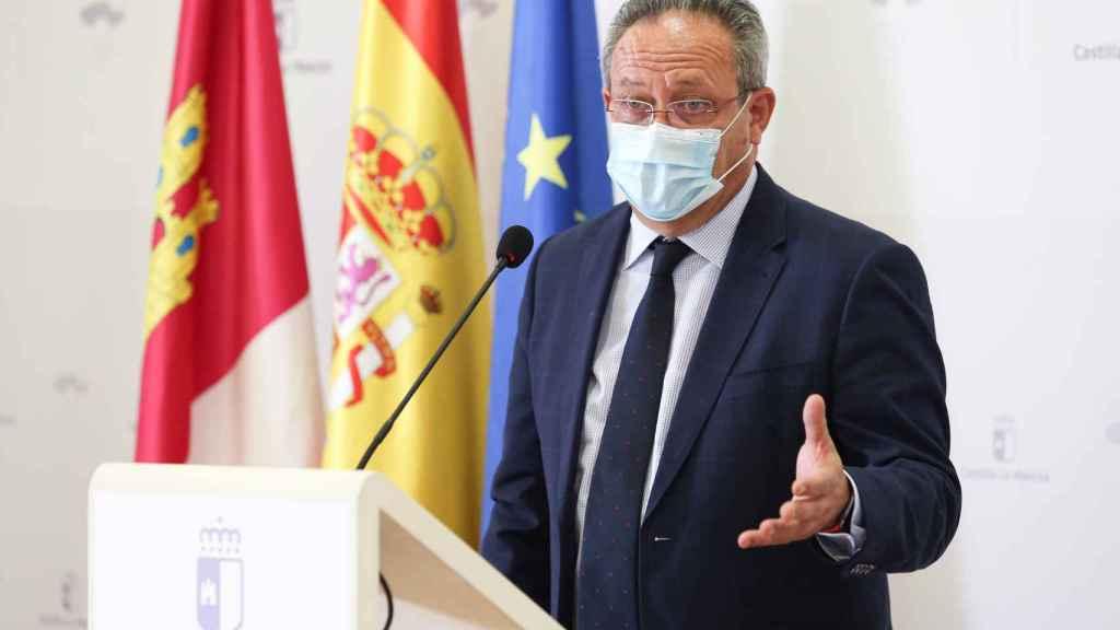 Juan Alfonso Ruiz Molina, consejero de Hacienda y Administraciones Públicas. Foto: Óscar Huertas