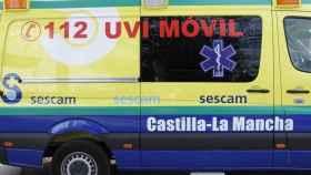 Heridas tres personas tras el choque de dos vehículos en Heras de Ayuso (Guadalajara)