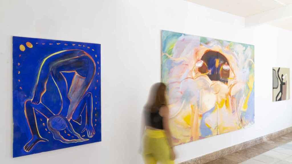 Exposición 'Female Gaze', en la galería Badr El Jundi.