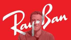 Mark Zuckerberg con el logo de RayBan