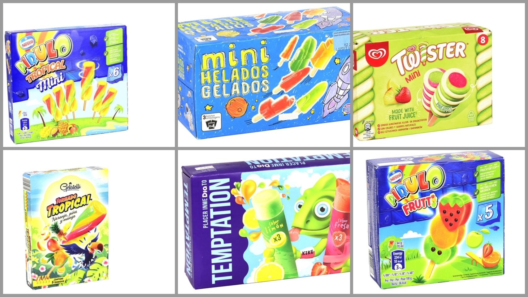 Los 12 mejores helados para niños, según la OCU: desde 0,98 euros