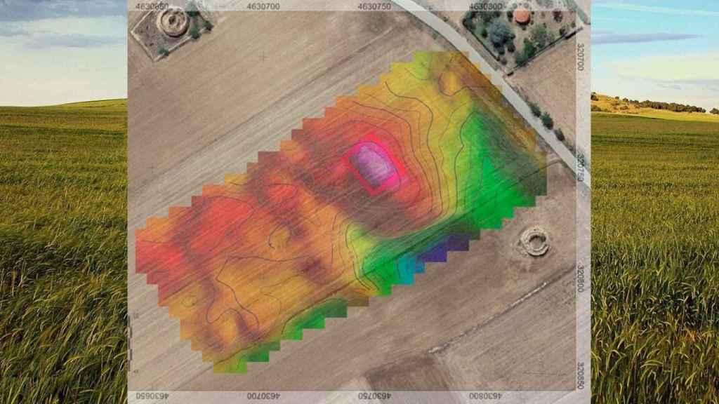 Resultado de las prospecciones geofísicas realizadas en el yacimiento de Tordehumos.