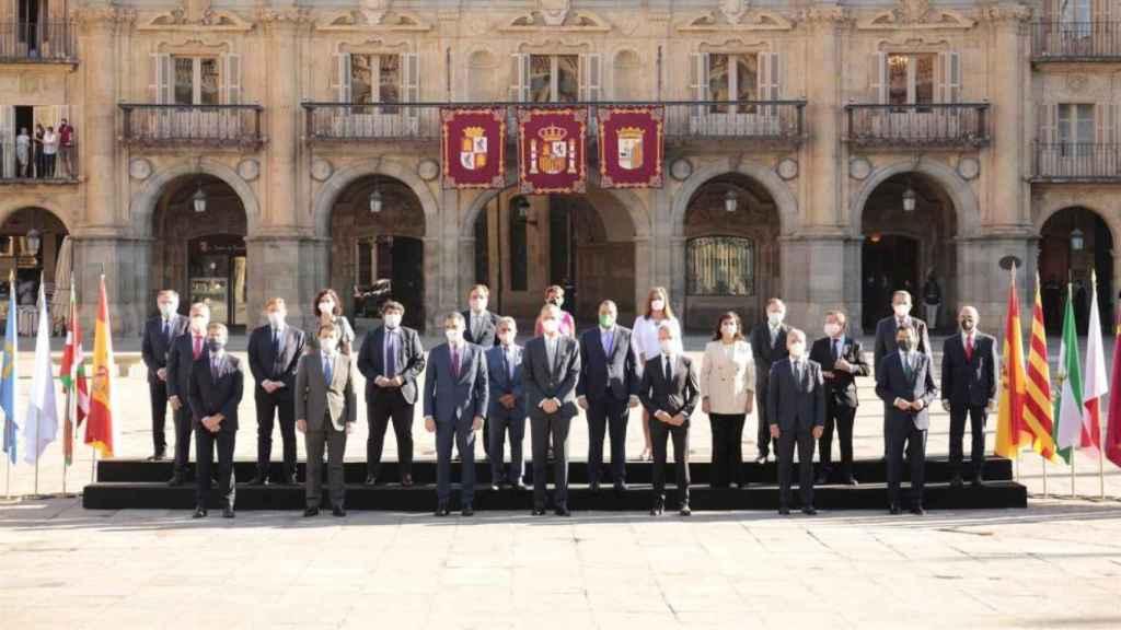 Foto de familia de la Conferencia de Presidentes