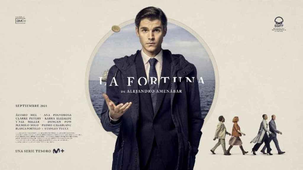 Cartel de 'La fortuna', la primera serie de Alejandro Amenábar.