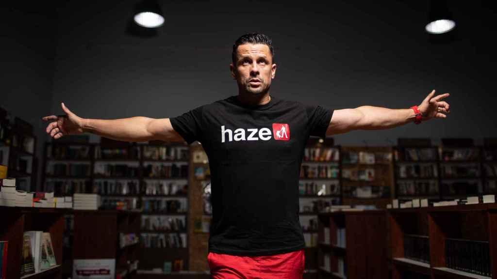 Haze quiere ser profesor porque le gusta comunicar. Cree que el rap pronto tendrá una cátedra universitaria.