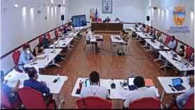 Pleno del ayuntamiento de Guadalajara