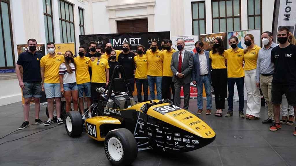 Vehículo de Málaga Racing Team