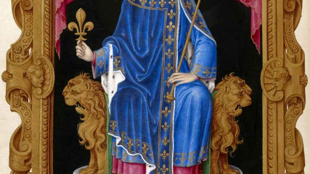Retrato de Felipe IV de Francia.
