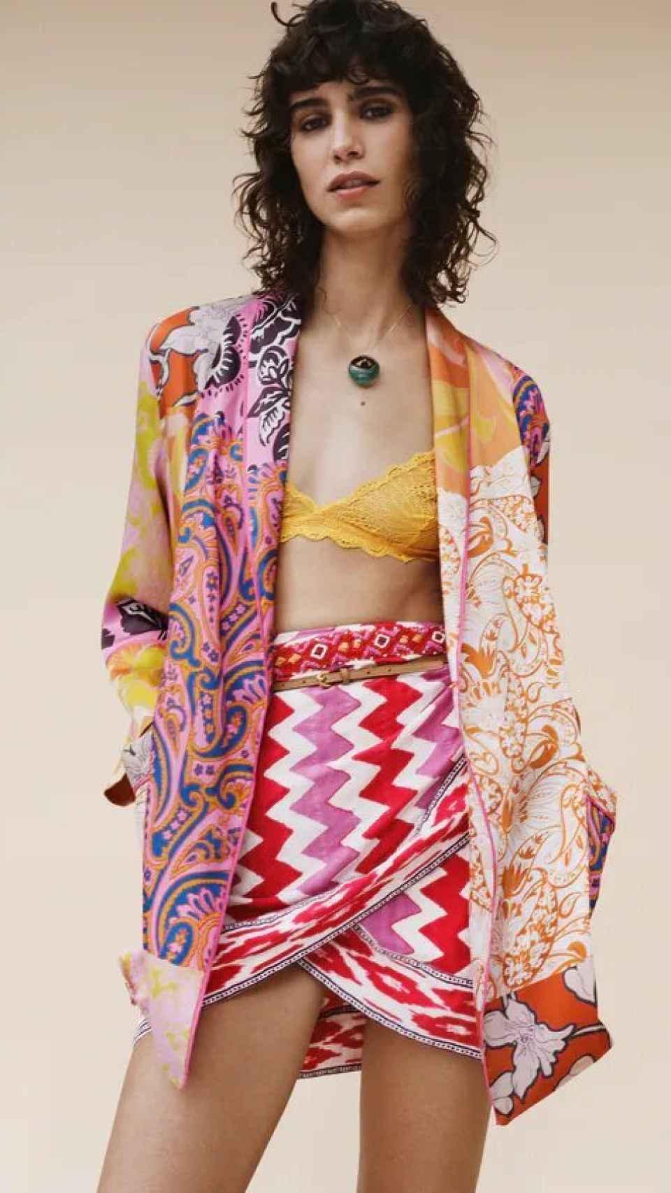Modelo de la tienda 'online' de Zara.