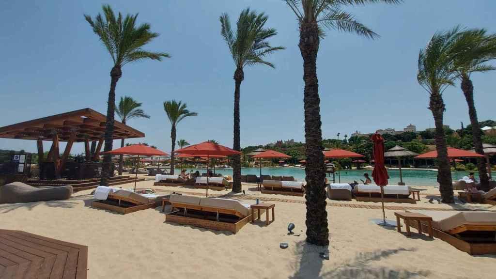 Playa Reserva Club de Sotogrande.