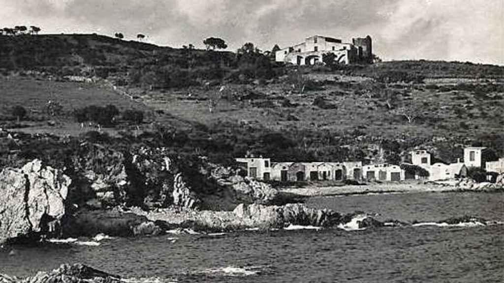 Mas Juny vista desde el mar, años 30