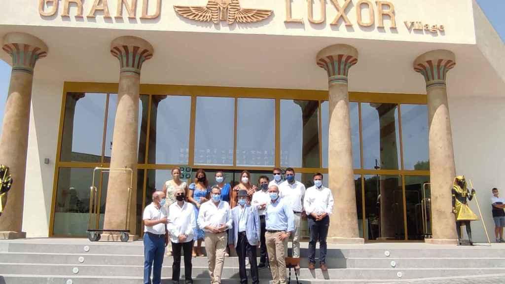 Grand Luxor Village representa la apuesta premium del parque Terra Mítica.