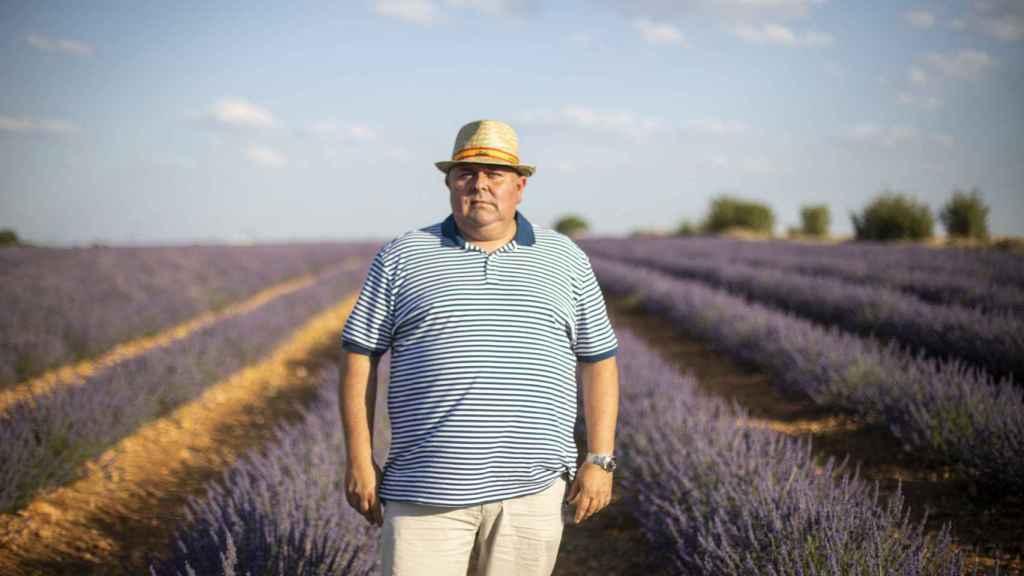 Juan José De Lope, el empresario agrícola que encabeza, junto a su padre y su hermano, Alcarria Flora.