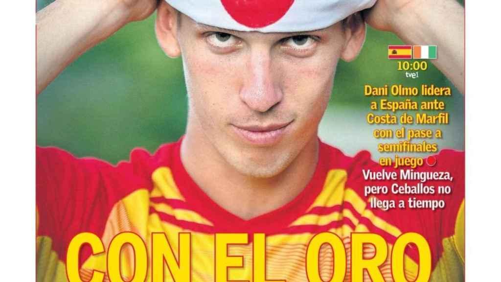 La portada del diario AS (31/07/2021)
