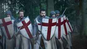 Escena de la serie 'Knightfall', sobre el final de los templarios.
