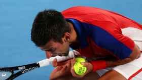 Novak Djokovic, en los Juegos Olímpicos