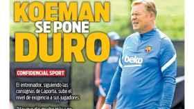 Portada Sport (30/07/21)