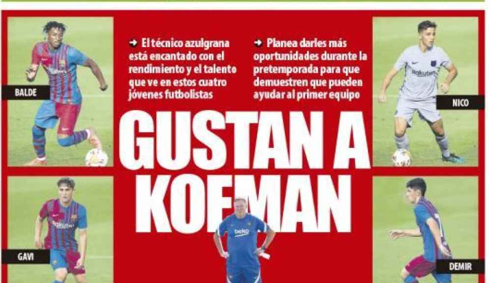 Portada Mundo Deportivo (30/07/21)