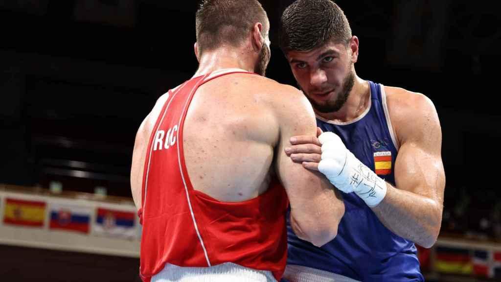 Gazi Jalidov e Imam Khataev, en los Juegos Olímpicos de Tokio 2020